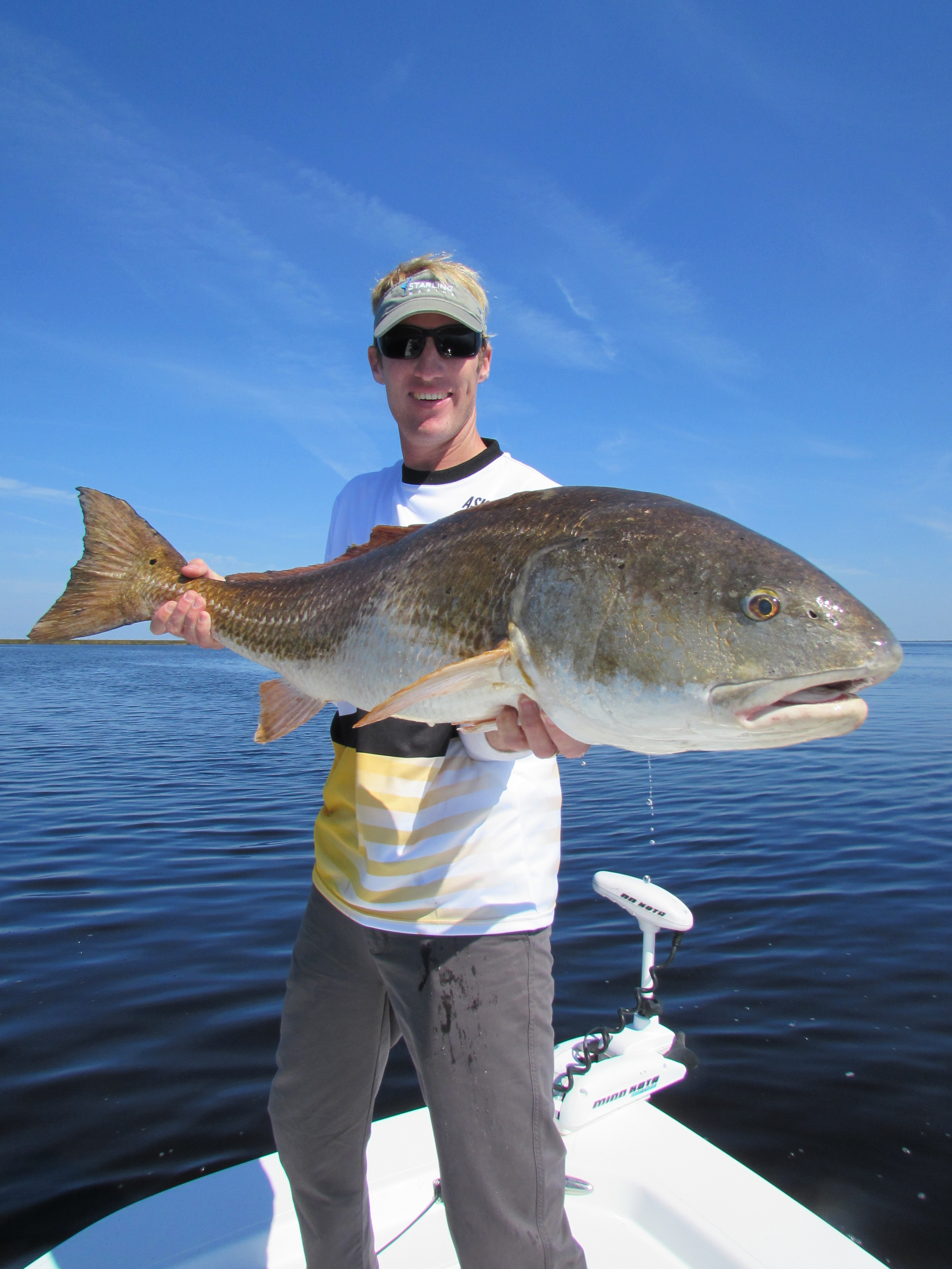 Trophy red drum fishing fishibx eastern nc fishing guide for Red drum fishing