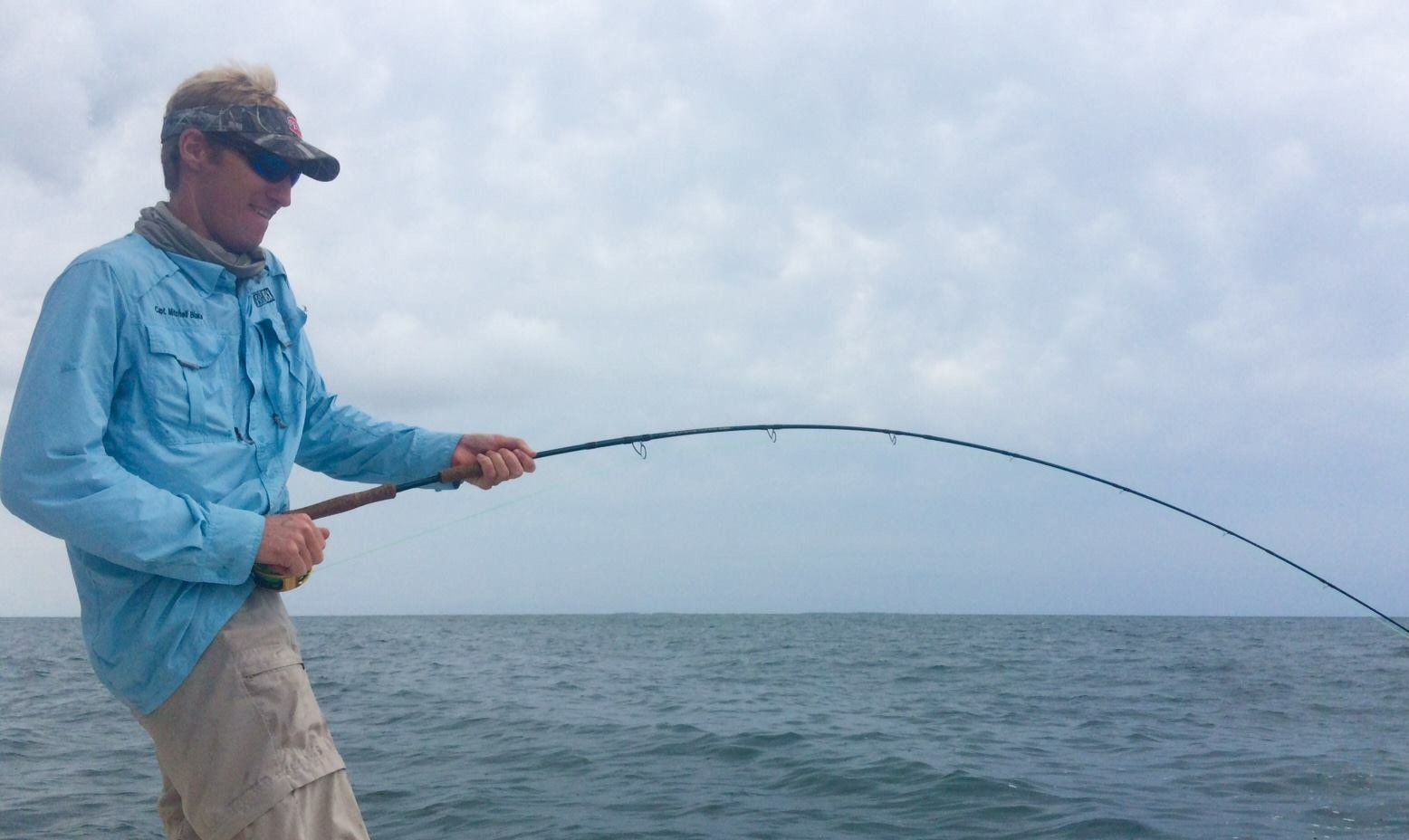 Citation sharks on fly and light tackle fishibx eastern for Northeast saltwater fishing reports