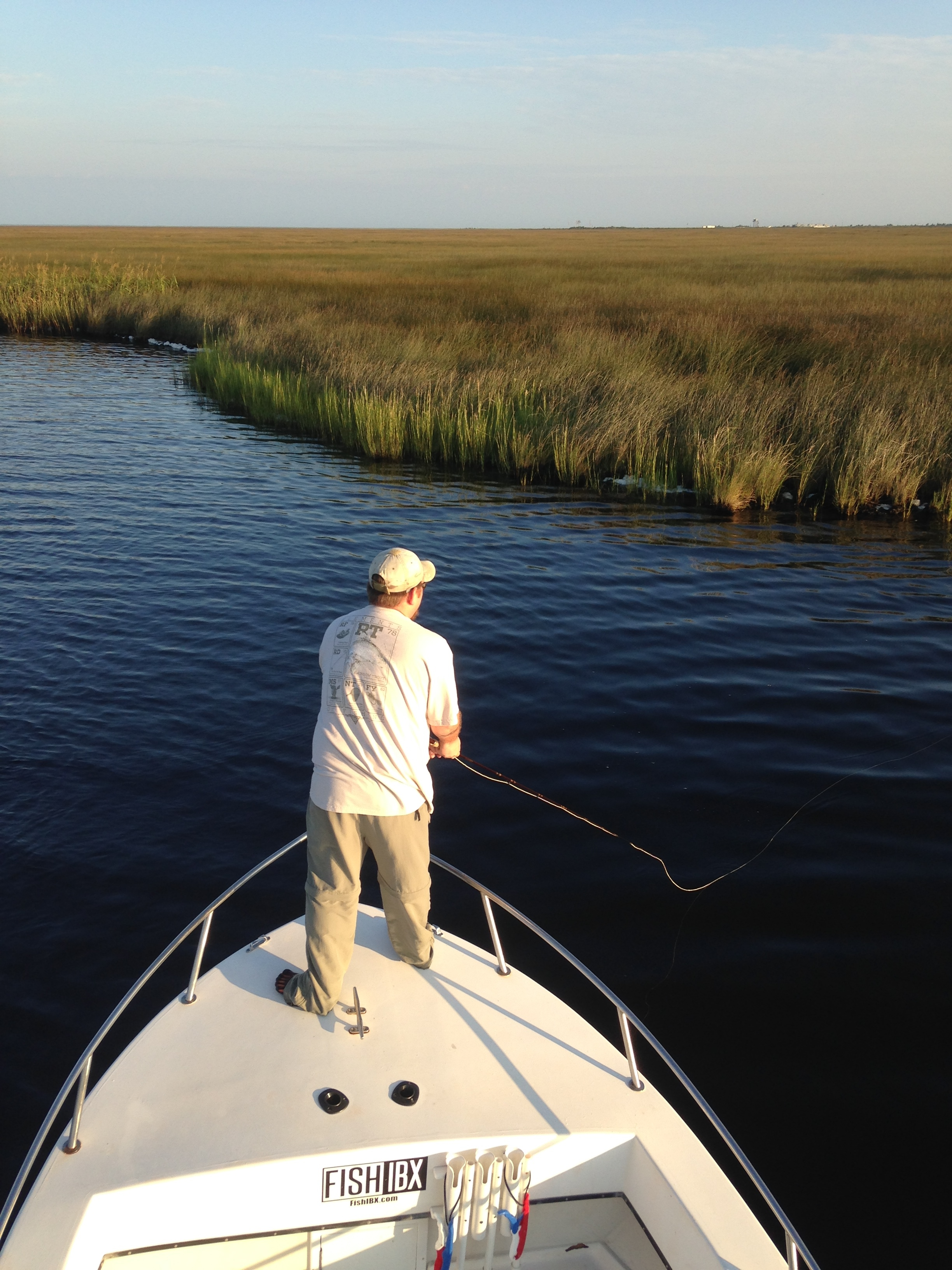 Fly fishing the inner banks fishibx eastern nc fishing guide for Northeast saltwater fishing reports