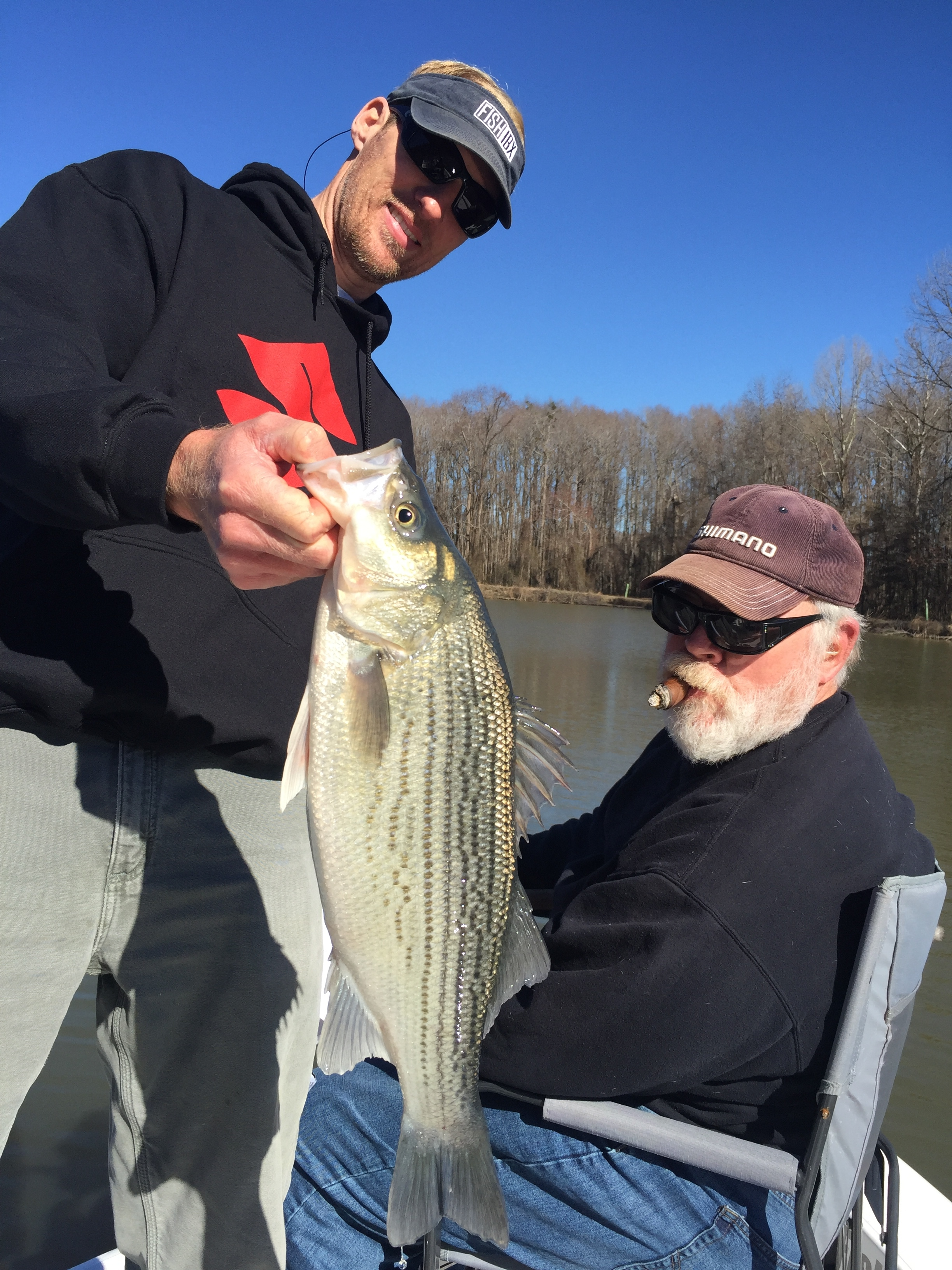 roanoke river nc mallards crappie stripers fishibx